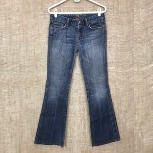7 For All Mankind Bootcut/Flare A Pocket Jeans 29